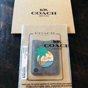 Coach phone wallet ALOHA 🌴🌺